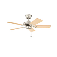 Kichler Lighting Sutter Place Fan in Brushed Nickel 337013NI