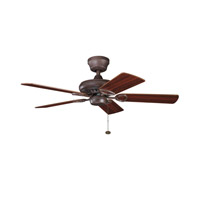 Kichler Lighting Sutter Place Fan in Tannery Bronze 337013TZ