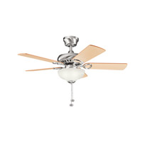 Kichler Lighting Sutter Place Select 3 Light Fan in Brushed Stainless Steel 337014BSS alternative photo thumbnail