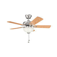 Kichler Lighting Sutter Place Select 3 Light Fan in Brushed Stainless Steel 337014BSS