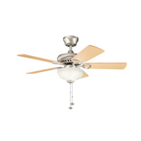 Kichler Lighting Sutter Place Select 3 Light Fan in Brushed Nickel 337014NI