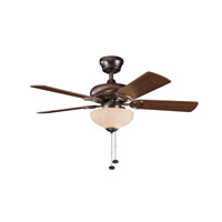 Kichler Lighting Sutter Place Select 3 Light Fan in Oil Brushed Bronze 337014OBB alternative photo thumbnail