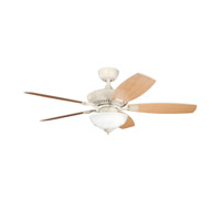 Kichler Lighting Canfield 2 Light Fan in Adobe Cream 337016ADC alternative photo thumbnail
