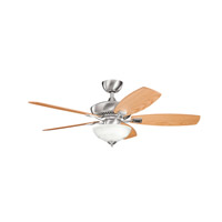Kichler Lighting Canfield 2 Light Fan in Brushed Stainless Steel 337016BSS alternative photo thumbnail