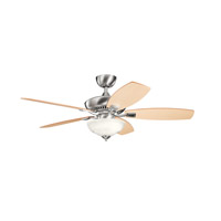 Kichler Lighting Canfield 2 Light Fan in Brushed Stainless Steel 337016BSS photo thumbnail