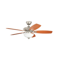 Kichler Lighting Canfield 2 Light Fan in Brushed Nickel 337016NI alternative photo thumbnail