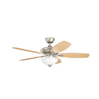 Kichler 337016NI Canfield Brushed Nickel Maple Ms-90411 Fan