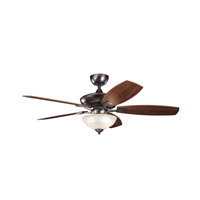 Kichler Lighting Canfield 2 Light Fan in Oil Brushed Bronze 337016OBB alternative photo thumbnail