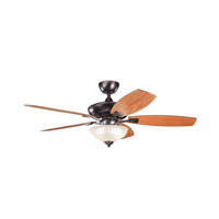 Kichler Lighting Canfield 2 Light Fan in Oil Brushed Bronze 337016OBB