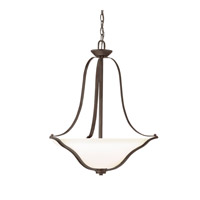 Kichler 3384OZL16 Langford LED 22 inch Olde Bronze Pendant Ceiling Light thumb