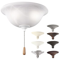 Kichler Lighting Bowl 3 Light Fan Light Kit in Multiple 338500MUL photo thumbnail
