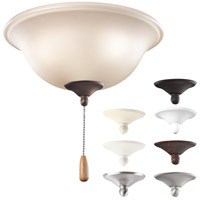 Kichler Lighting Signature 3 Light Fan Light Kit in Multiple 338503MUL