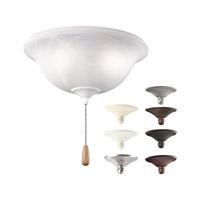 Kichler Bowl Light Kit 3 Light Fan Light Kit in Multiple 338506MUL