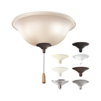 Kichler Bowl Light Kit 3 Light Fan Light Kit in Multiple 338508MUL