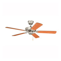 Kichler Lighting Builder Sterling Manor Fan in Brushed Nickel 339010NI7