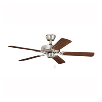 Kichler Lighting Builder Sterling Manor Fan in Brushed Nickel 339010NI7 alternative photo thumbnail