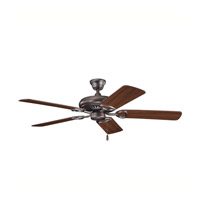 Kichler Lighting Sutter Place Fan in Oil Brushed Bronze 339011OBB
