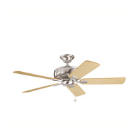 Kichler Lighting Saxon Fan in Brushed Stainless Steel 339012BSS photo thumbnail