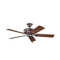 Kichler Lighting Saxon Fan in Oil Brushed Bronze 339012OBB photo thumbnail
