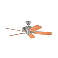 Kichler 339013BAP Monarch 52 inch Burnished Antique Pewter with Cherry MS-98514 Blades Fan