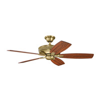 Kichler Monarch II Ceiling Fan in Natural Brass 339013NBR