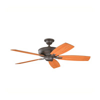 Kichler 339013OZ Monarch II Olde Bronze with Cherry Ms-5291 Blades Fan
