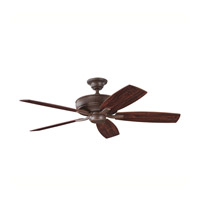 Kichler 339013TZ Monarch II Tannery Bronze with Teak Ms-98556 Blades Fan