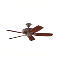 Kichler Lighting Monarch II Fan in Tannery Bronze 339013TZ