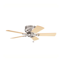 Stratmoor 42 inch Brushed Stainless Steel with Lt Oak Ms-3590 Blades Fan