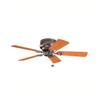 Kichler 339017OBB Stratmoor 42 inch Oil Brushed Bronze with Walnut Ms-97503 Blades Fan