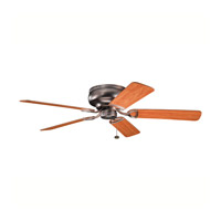 Kichler 339022OBB Stratmoor Oil Brushed Bronze with Walnut Ms97503 Blades Fan