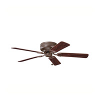 Kichler Lighting Stratmoor Fan in Tannery Bronze 339022TZ alternative photo thumbnail