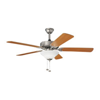 Kichler Lighting Sterling Manor Select 3 Light Fan in Brushed Nickel 339210NI photo thumbnail