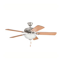 Kichler 339211AP Sutter Place Select Antique Pewter with Cherry Ms-98514 Blades Fan in Light Cherry/Dark Cherry
