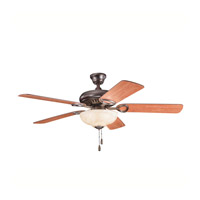 Kichler 339211OBB Sutter Place Select Oil Brushed Bronze with Walnut Ms97503 Blades Fan in Walnut/Medium Cherry alternative photo thumbnail