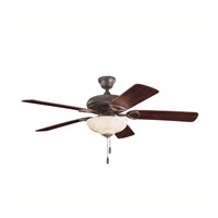 Kichler Lighting Sutter Place Select 3 Light Fan in Tannery Bronze 339211TZ