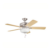Kichler Lighting Saxon Select 1 Light Fan in Brushed Stainless Steel 339212BSS photo thumbnail