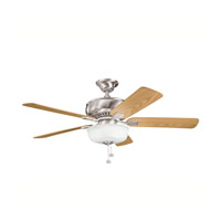 Kichler Lighting Saxon Select 1 Light Fan in Brushed Stainless Steel 339212BSS
