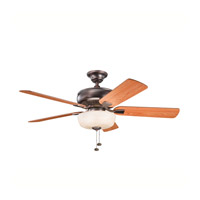 Kichler Lighting Saxon Select 1 Light Fan in Oil Brushed Bronze 339212OBB photo thumbnail