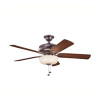 Kichler Lighting Saxon Select 1 Light Fan in Oil Brushed Bronze 339212OBB alternative photo thumbnail