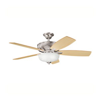 Kichler Lighting Monarch II Select 1 Light Fan in Brushed Stainless Steel 339213BSS photo thumbnail
