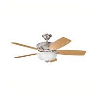 Kichler Lighting Monarch II Select 1 Light Fan in Brushed Stainless Steel 339213BSS alternative photo thumbnail