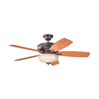 Kichler 339213OBB Monarch II Select Oil Brushed Bronze with Walnut Ms-97503 Blades Fan