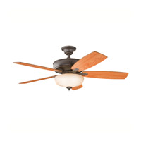 Kichler 339213OZ Monarch II Select Olde Bronze with Walnut/Light Cherry Blades Fan alternative photo thumbnail