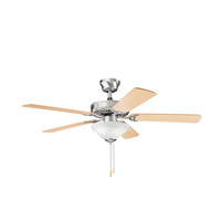 Kichler Lighting Sterling Manor Select 2 Light Fan in Brushed Stainless Steel 339220BSS alternative photo thumbnail