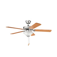 Kichler Lighting Sterling Manor Select 2 Light Fan in Brushed Stainless Steel 339220BSS