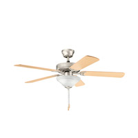 Kichler Lighting Sterling Manor Select 2 Light Fan in Brushed Nickel 339220NI photo thumbnail