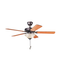 Kichler Lighting Sterling Manor Select 2 Light Fan in Oil Brushed Bronze 339220OBB alternative photo thumbnail