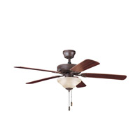 Kichler Lighting Sterling Manor Select 2 Light Fan in Tannery Bronze 339220TZ
