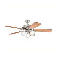Kichler 339400AP Sutter Place Premier Antique Pewter with Cherry Ms-98514 Blades Fan